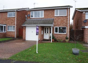 Thumbnail 3 bed detached house for sale in Townesend Close, Warwick