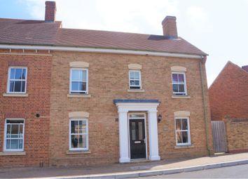 Thumbnail 3 bed semi-detached house for sale in East Wichel Way, Swindon