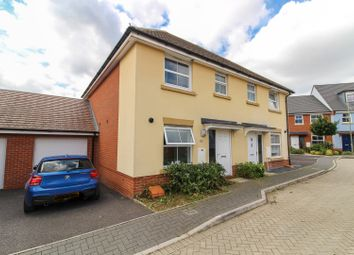 Thumbnail 3 bed semi-detached house for sale in Vetch Way, Andover