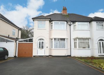 Thumbnail 3 bed semi-detached house for sale in Radbourne Road, Shirley, Solihull