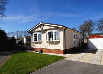 Thumbnail 2 bed mobile/park home for sale in The Meadow, Mount Pleasant Residential Park, Goostrey