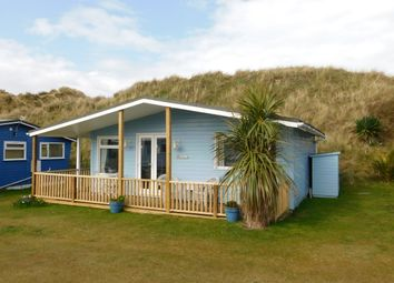 Thumbnail 2 bed mobile/park home for sale in Gwithian Sands Chalet Park, Hayle