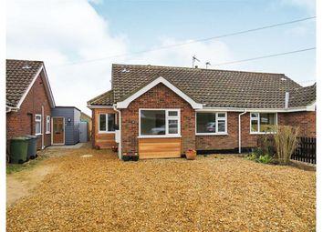 Thumbnail 3 bed semi-detached bungalow for sale in Copeman Road, Aylsham, Norwich