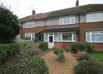 Thumbnail 2 bedroom terraced house to rent in Elgin Avenue, Ashford, Surrey