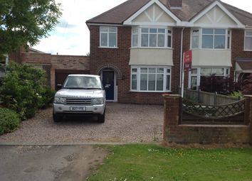 Thumbnail 3 bed semi-detached house to rent in Rugby Road, Leamington Spa