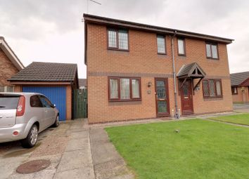 Thumbnail 2 bed semi-detached house for sale in Avenswood Lane, Scunthorpe