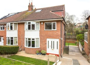 Thumbnail 4 bedroom semi-detached house for sale in Allerton Grange Vale, Leeds, West Yorkshire