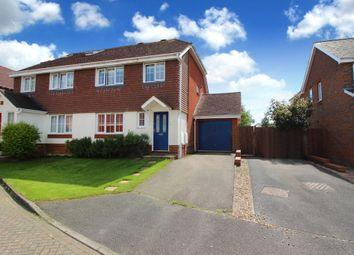 Thumbnail 3 bed semi-detached house for sale in Cranham Avenue, Billingshurst