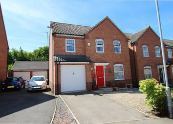 Thumbnail 4 bed detached house for sale in Lark Close, Corby
