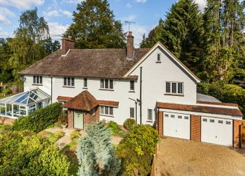 Thumbnail 5 bed detached house for sale in The Drive, Hook Heath, Woking