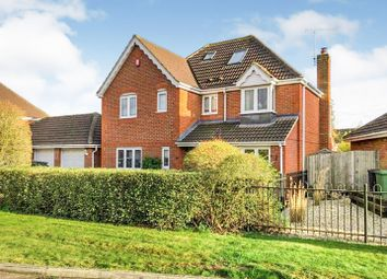 Thumbnail 5 bed detached house for sale in Stevenson Road, Swindon