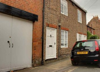 Thumbnail 1 bed terraced house to rent in Minster Moorgate, Beverley
