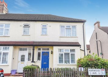 Thumbnail 3 bed property for sale in Harwood Avenue, Mitcham
