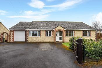 Thumbnail 4 bed detached bungalow for sale in Rock Lane, Warminster