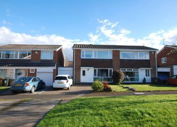 Thumbnail 3 bed semi-detached house for sale in Highfield Place, Wideopen, Newcastle Upon Tyne