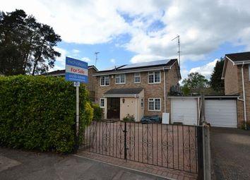 Thumbnail 4 bedroom detached house for sale in Curzon Drive, Church Crookham, Fleet