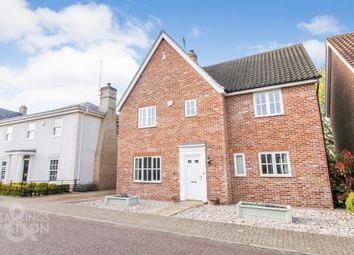 Thumbnail 4 bed detached house for sale in Doune Way, Starston, Harleston