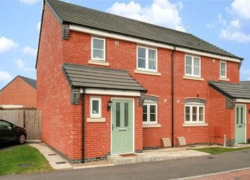Thumbnail 3 bed semi-detached house for sale in Armada Court, King Georges Way, Hinckley