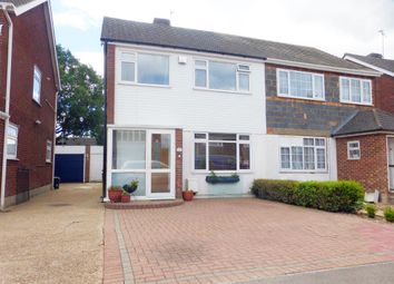 Thumbnail 3 bedroom semi-detached house for sale in Copthorne Gardens, Hornchurch