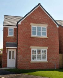 "Thumbnail 3 bed detached house for sale in ""The Hatfield"" at Lakes Road, Derwent Howe Industrial Estate, Workington"