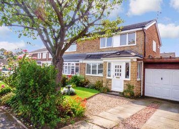 Thumbnail 3 bed semi-detached house to rent in Pentridge Close, Cramlington