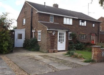 Thumbnail 3 bedroom semi-detached house to rent in Keates Road, Cherry Hinton, Cambridge