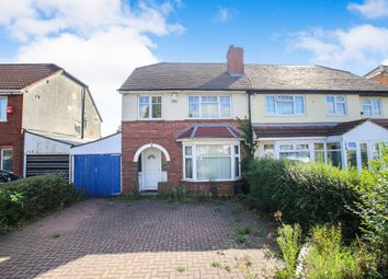 Thumbnail 3 bed semi-detached house for sale in Newbridge Road, Birmingham
