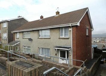 Thumbnail 3 bed semi-detached house for sale in Ael Y Bryn, North Cornelly, Bridgend
