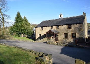 Thumbnail 5 bed detached house for sale in Clock House, Ripponden
