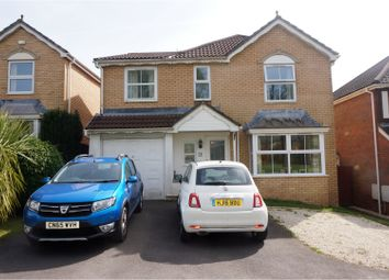 Thumbnail 5 bed detached house for sale in Sunnybank Close, Cardiff