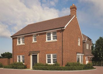 "Thumbnail 4 bed detached house for sale in ""The Cox"" at Farnham Road, Odiham, Hook"