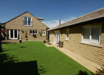 Thumbnail 5 bed detached house for sale in The Crescent, Southowram, Halifax