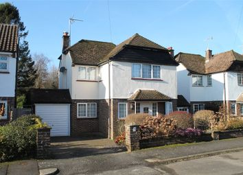Thumbnail 4 bed detached house for sale in Willow Way, Godstone, Surrey