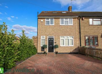 Thumbnail 4 bed end terrace house for sale in Dewhurst Road, Cheshunt, Waltham Cross