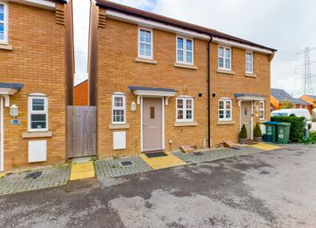 Thumbnail 2 bed semi-detached house for sale in Merton Close, Berryfields, Aylesbury
