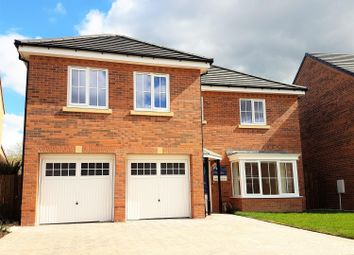 Thumbnail 5 bedroom detached house for sale in Brookfield Avenue, Acklam Woods, Middlesbrough