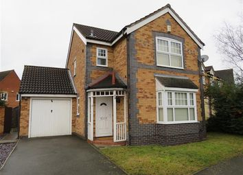 Thumbnail 3 bed detached house to rent in Heawood Way, Thorpe Astley, Leicester