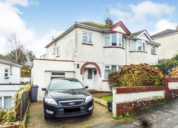 Thumbnail 1 bedroom flat for sale in All Hallows Road, Preston, Paignton