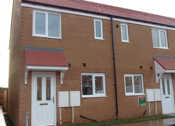 Thumbnail 2 bed end terrace house to rent in Norham Drive, Amble, Morpeth