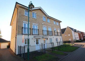 Thumbnail 3 bed town house to rent in Marius Crescent, Hampton Hargate, Peterborough
