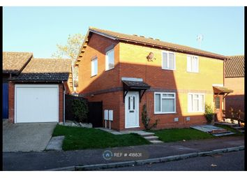 Thumbnail 2 bed semi-detached house to rent in Huntingbrooke, Milton Keynes