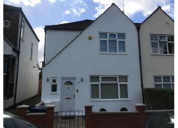 Thumbnail 3 bed semi-detached house for sale in Manus Way, London