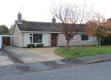 Thumbnail 3 bed detached bungalow to rent in De Ligne Drive, Harlaxton, Grantham