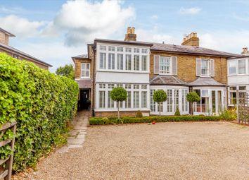 Oatlands Drive, Weybridge, Surrey KT13. 4 bed semi-detached house for sale