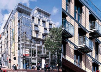 Thumbnail 1 bedroom flat for sale in Temple House, Temple Street, Birmingham