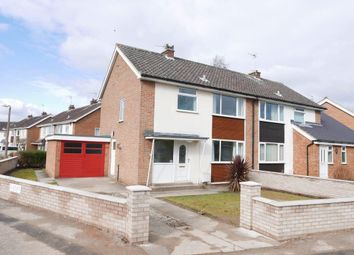 Thumbnail 3 bed semi-detached house to rent in Allington Drive, York