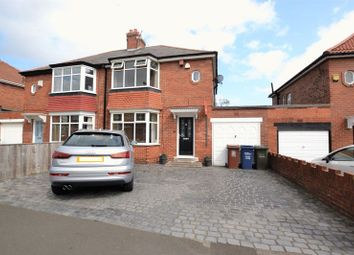 Thumbnail 2 bed semi-detached house for sale in Swaledale Gardens, High Heaton, Newcastle Upon Tyne