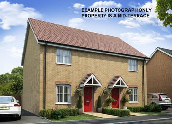 Thumbnail 2 bed terraced house for sale in Plot 65, The Welland, Cowley Park, Towndam Lane