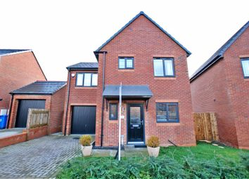 Thumbnail 3 bed detached house for sale in Alwin Grove, Dinnington, Newcastle Upon Tyne