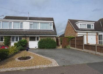 Thumbnail 3 bed semi-detached house for sale in The Furlongs, Needingworth, St. Ives, Huntingdon